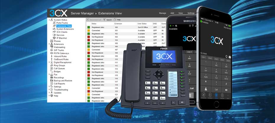 ip phone cloud pbx